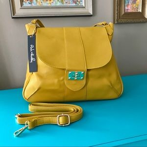 ⭐️HP⭐️ Vegan Classic Shoulder Bag Mustard Yellow